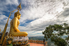 Top of tiger cave temple Krabi Royalty Free Stock Images
