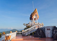 On the top of Tiger Temple (Wat Tham Suea) Stock Images