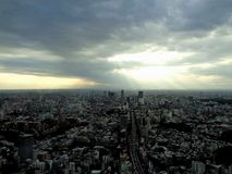 Top of Tokyo stock photography