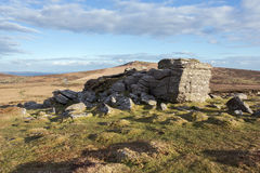 Top Tor Dartmoor Royalty Free Stock Images