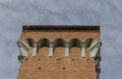 Top of Torre Guelfa of Pisa Royalty Free Stock Images