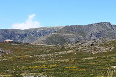 The top of the Torre peak in Serra da Estrela Stock Images