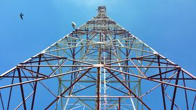 The Top of A Tower Royalty Free Stock Photo