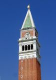 Top of the tower, in Venice Royalty Free Stock Photos
