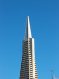 Top of Transamerica Pyramid Royalty Free Stock Photos