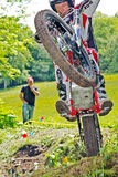 Top trials rider Royalty Free Stock Photo