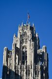 Top of the Tribune Tower Stock Image