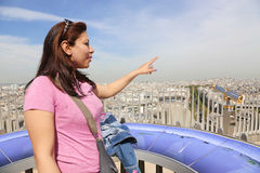Top of Triumph, Paris Stock Photography