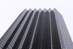 Top of Trump Tower stock image