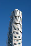 The top of Turning Torso Stock Image