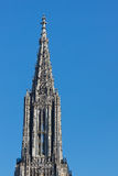 Top of Ulm Minster (Ulmer Muenster), Germany Stock Images