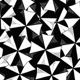 Top of umbrellas seamless pattern Stock Images