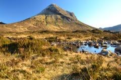 De top van de berg Royalty-vrije Stock Fotografie