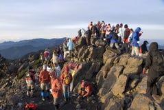 Top van Mt. jade in Taiwan Royalty-vrije Stock Fotografie