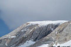 Top van Seekofel in het Dolomiet, Zuid-Tirol, Italië Royalty-vrije Stock Fotografie
