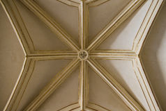 Top of vaulted ceiling Stock Photography