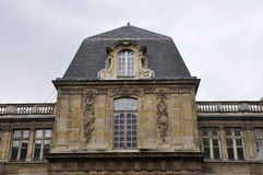 Top of Vendome Historic Building from Paris in France Stock Image
