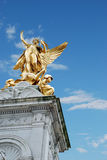 Top of Victoria Memorial, London, england Stock Image