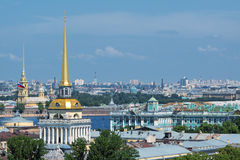 St. Petersburg cityscape Royalty Free Stock Photo