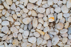 Top view abstract background with rock  and round pebble stones Royalty Free Stock Photo