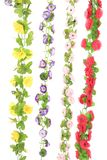 Top view of artificial flowers. Royalty Free Stock Image