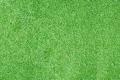 Top view of artificial green grass for texture and background Stock Images