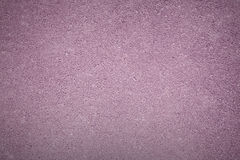 Lilac background texture of rough asphalt, top view Stock Photography
