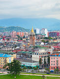 Top view of Batumi, Georgia Royalty Free Stock Image
