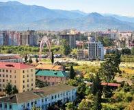 Top view of Batumi town Stock Photos