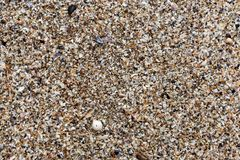 Top view of Beach sand for background and texture. Summer background concept. Top view of Beach sand for background and texture. Summer background concept Royalty Free Stock Image