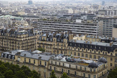 Top view of the beautiful architecture of Paris royalty free stock photos