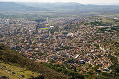 Top view of Bergama Stock Images