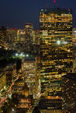 Top view of Boston, USA Royalty Free Stock Photography