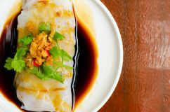 Top view breakfast in morning time,Thai food styles. stock image