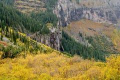 Top View of Bridal Veil Falls Stock Images