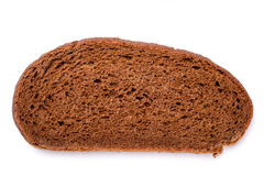 Top view of brown brread loaf Stock Photo