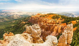 Top view on Bryce Canyon National Park. Utah, USA Royalty Free Stock Photos