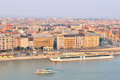 Top-view of Budapest Stock Image