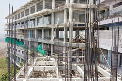 Top View building construction site Stock Images