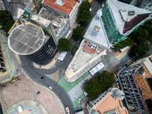 Top view of Buildings in Marco Zero in Recife, Pernambuco State, Brazil Stock Image