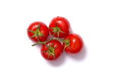 Top view of bunch of fresh tomatoes Stock Image