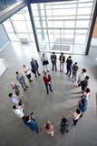 Top view on business meeting Royalty Free Stock Photography