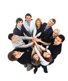 Top view of business people Royalty Free Stock Photography