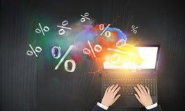 E-commerce as concept Royalty Free Stock Photos