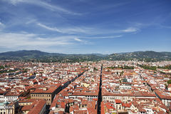 Top view from Campanile Giotto Royalty Free Stock Image