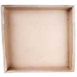 Top view of carton box Royalty Free Stock Image
