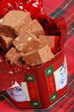 Top View Of Christmas Fudge Stock Photos