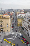 Top view citiscape of prague Stock Image