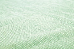 Top View of Cloth Textile Surface.-green Royalty Free Stock Photos