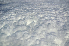Top view of a clouds Stock Image